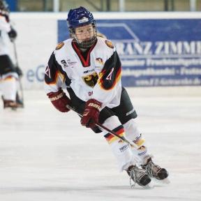 Nina Christof, ERV Schweinfurt und GirlsEishockey.de