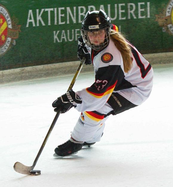 Vivien Wallner, EHC Bayreuth und GirlsEishockey.de